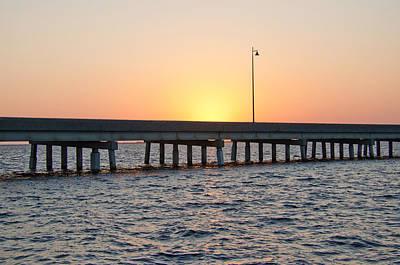 Photograph - Peace River Bridge - Punta Gorda Florida by John Black