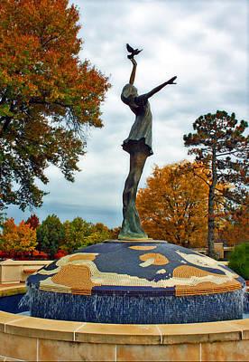 Peace Statue Independence Missouri Art Print