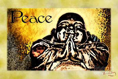 Digital Art - Peace by Thomas OGrady