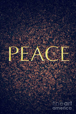 Positivity Photograph - Peace by Tim Gainey