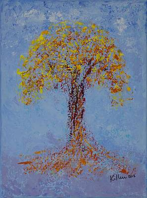 Pallet Knife Painting - Peace by William Killen