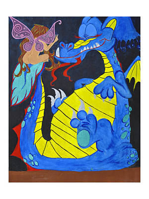 Peacefool Art Print by HannaH Fussell