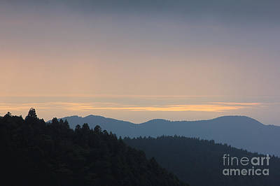 Photograph - Peaceful Afternoon Blue Mountains Covered With Trees by Beverly Claire Kaiya