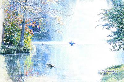 Digital Art - Peaceful Afternoon by Mariarosa Rockefeller
