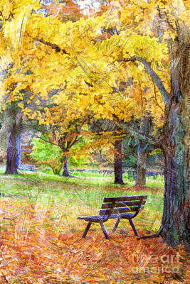 Peaceful Autumn Art Print by Darren Fisher
