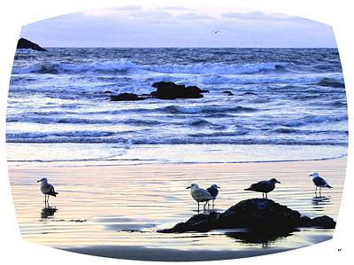 Peaceful Bandon Sunset  Art Print