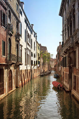 Peaceful Canal Art Print