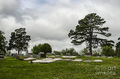Photograph - Peaceful Cemetery Galena Kansas by Deborah Smolinske