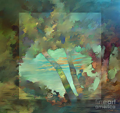 Peaceful Dawn Art Print by Ursula Freer