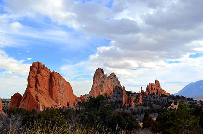 Photograph - Peaceful Day In Garden Of The Gods by Clarice  Lakota