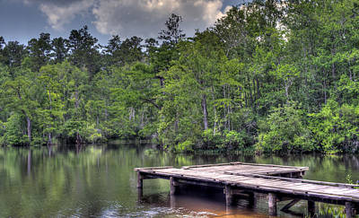 Photograph - Peaceful Dock by David Troxel