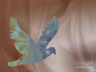 Granger Royalty Free Images - Peaceful Dove Royalty-Free Image by Donna Brown