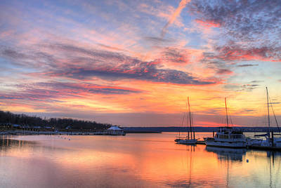 Photograph - Peaceful Evening by JC Findley