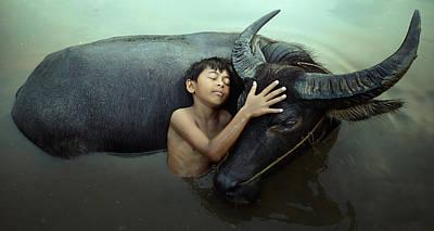 Peaceful Photograph - Peaceful by Fahmi Bhs