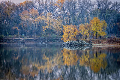 Photograph - Peaceful Fall Moment by Scott Bean