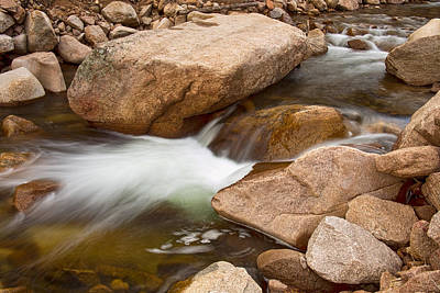 Photograph - Peaceful Flowing Water by James BO Insogna