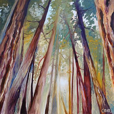 Peaceful Forest Original