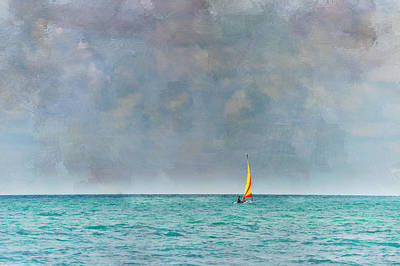 Peaceful Getaway Art Print by Kathy Jennings