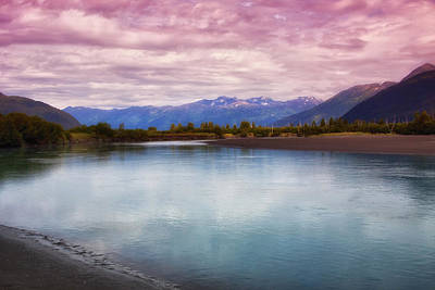 Photograph - Peaceful In Alaska by Kim Hojnacki