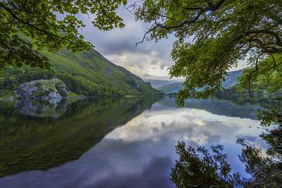 Llyn Gwynant Photograph - Peaceful Lakeside by Ian Mitchell