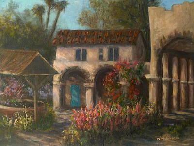 Peaceful Landscape Paintings Art Print