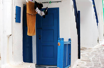 Photograph - Peaceful Life In Mykonos by John Rizzuto