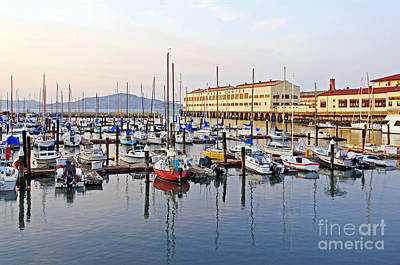 Photograph - Peaceful Marina by Kate Brown