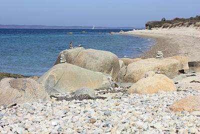 Photograph - Peaceful Martha's Vineyard Beach by Carol Groenen