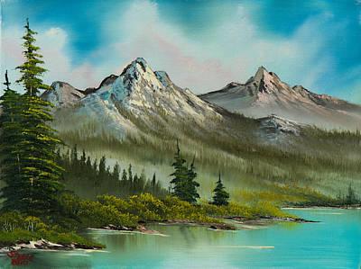 Peaceful Pines Art Print by C Steele