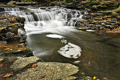 Photograph - Peaceful Pool Waterfall by Christina Rollo