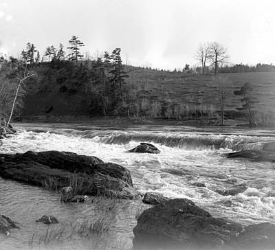 Photograph - Peaceful Rapids  by William Haggart