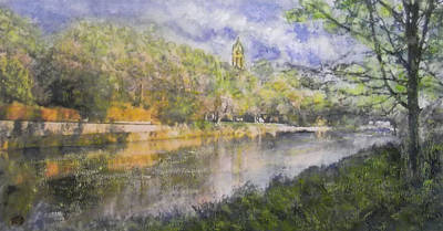 Painting - Peaceful Reflections  by Richard James Digance