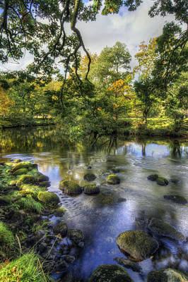 Photograph - Peaceful River by Ian Mitchell