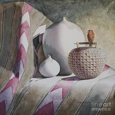 Painting - Peaceful by Sandra Neumann Wilderman