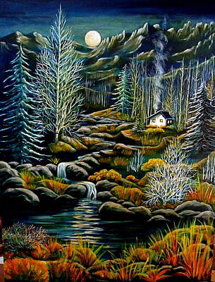 Peaceful Seclusion Original by Diana Dearen