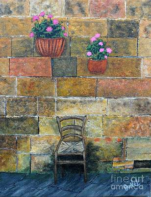 Italian Kitchen Painting - Peaceful Solitude by JoNeL Art