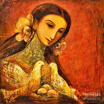 Peaceful Art Print by Shijun Munns