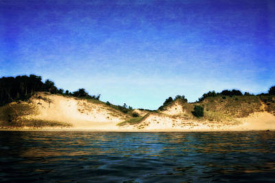 Boating Digital Art - Peaceful Shores by Michelle Calkins