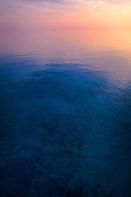 Zen Artwork Photograph - Peaceful Sunrise by Jenny Rainbow