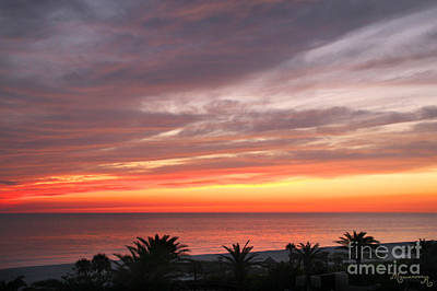 Photograph - Peaceful Sunset by Mariarosa Rockefeller
