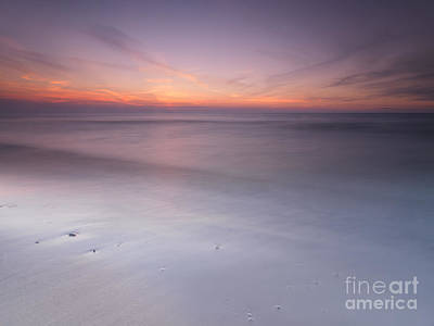 Pinery Photograph - Peaceful Sunset Scenery With Smooth Calm Water At Lake Huron by Oleksiy Maksymenko