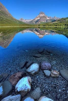 Photograph - Peaceful Swiftcurrent by David Andersen