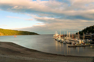 Photograph - Peaceful Tadoussac by Kathryn McBride
