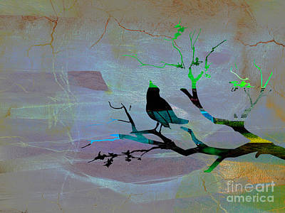 Peaceful Thoughts Print by Marvin Blaine