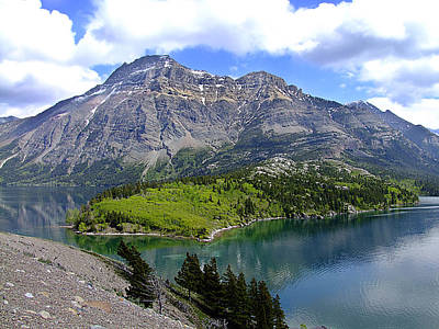 Photograph - Peaceful Waterton by George Cousins
