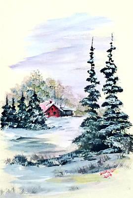 Peaceful Winter Art Print