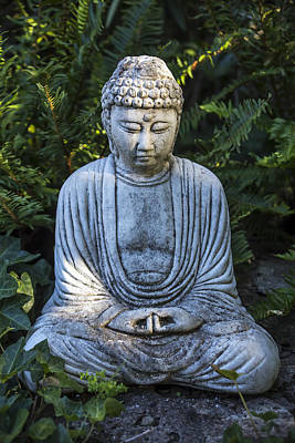 Buddhism Photograph - Peacefulness by Garry Gay