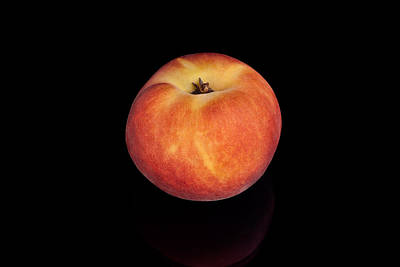 Photograph - Peach by Marek Poplawski