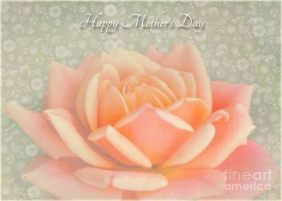 Photograph - Peach Perfection Rose Mother's Day by Debbie Portwood