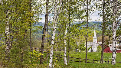 Photograph - Peacham Vermont Spring by Alan L Graham